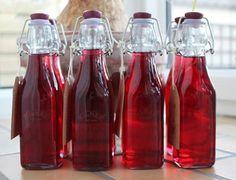 Raspberry gin!