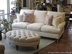 Apartment Size Sofas and Loveseats - Home Furniture Design Willow Furniture, Home Furniture, Furniture Design, Chaise Sofa, Sectional Sofa, Sleeper Sofas, Couches, Apartment Size Sofa, Storage Ottoman Bench