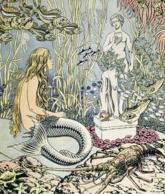 "venusmilk:    Ivan Bilibin - ""Little Mermaid"""