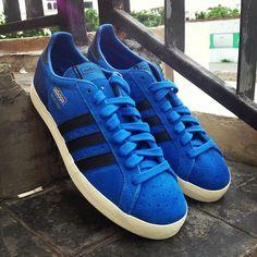 official photos b47dc 8967d adidas Originals Basket Profi OG Lo BluebirdBlack Blue Bird, Adidas  Originals,