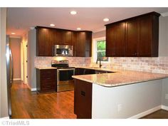 Completely remodeled and spectacular. This won't last long in desirable Branchwood neighborhood. Call me to see this beauty!  827 Branchwood Drive, Kernersville, NC 27284