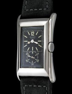 Rolex The Platinum black Prince Brancard ref. 971