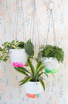 Revive And Refresh Old Dusty Items With These Nail Polish Hanging Plants