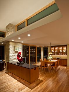 Charles Stinson Architect  Laurie Plattes interior design