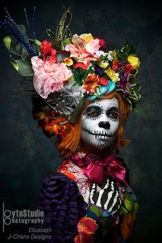 Clumsy Adventures of a Sunshine Guerrilla: Current Obsession- Day of the Dead Makeup