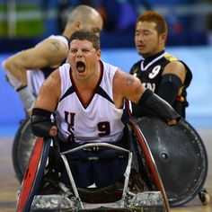 wheelchair rugby - fab!