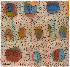 Beata Wehr, W 13 marks that look like stitch
