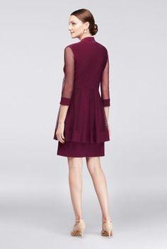 Kleid knielang ausschnitt