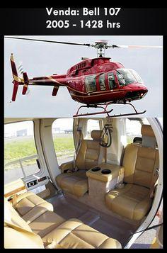 Aeronave à venda: Bell 407 , 2005, 1428 hrs. #bell #bell407 #407 #airsoftanv #aircraftforsale #aeronaveavenda #pilot #piloto #helicoptero #aviation #aviacao #heli #helicopterforsale  www.airsoftaeronaves.com.br/H175
