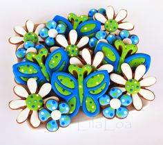 LilaLoa: Butterfly Cookies -- Cookies and Cards