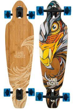 """Landyachtz Battle Axe Eagle 35"""" (89,5cm) Longboard-Complète achetez sur skatedeluxe"""