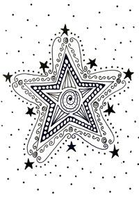 zendoodle christmas   Black and white A6 zendoodle cards cards in packs of 5, with two cards ...