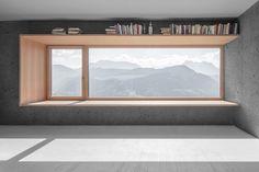 Альпийский дом из бетона от архитектора Андреаса Грубера