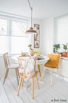 Binti Home Blog: Binti Home Story : My painted chairs and table with Flexa creations