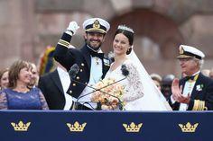 Pin for Later: Die 27 unvergesslichsten Promi-Hochzeiten von 2015 Prinz Carl Philip und Prinzessin Sofia von Sweden Die royale Hochzeit fand im Juni in Stockholm statt.