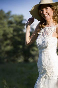 María, YC bride all around the world!  Alquimia Hippi-chic bridal collection by YolanCris  #wedding #bride #sposa #noiva #mariée
