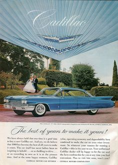 1960 Cadillac Ad from National Geographic-July 1960 | Flickr - Photo Sharing!