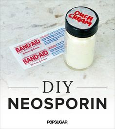 Neosporin Has Nothing on This DIY Antibacterial Cream