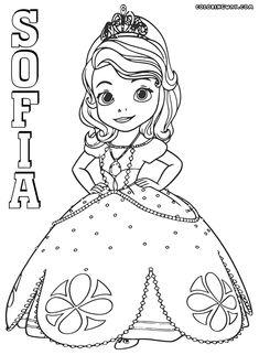 Dibujos de La Princesa Sofia para colorear, dibujos disney ...
