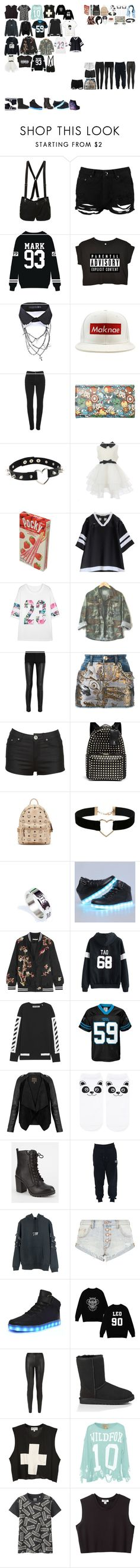 """Packing for Hogwarts"" by kaelighofficial ❤ liked on Polyvore featuring Abbey Dawn, Boohoo, deepstyle, Vivienne Westwood Anglomania, Marvel, Richie House, sOUP, Givenchy, Philipp Plein and Valentino"