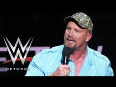 """Stone Cold"" Steve Austin talks about WWE Network's vast video library Steve Austin, Stone Cold Steve, Video Library, Videos, Wrestling, Wwe Stuff, Entertainment, Tips, Art"