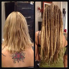Top 100 dreadlock hairstyles photos Before & After Human Hair Dreadlock Extensions by Alin, Caylin & Carmen. #dreadlockextensions #dreadextensions #humanhairextensions #dollylocks #dollylockssalon #dreadlocks #dreadlockhairstyles #modernsalon @dollylockssalon @dollylocks See more http://wumann.com/top-100-dreadlock-hairstyles-photos/