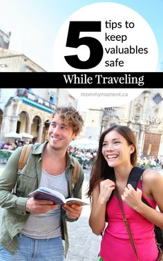 Traveling is a favorite pass-time for many people – -married or single, young or old.  However, it can also be a dangerous past-time.  Here are 5 TIPS TO KEEP VALUABLES SAFE WHILE TRAVELING!
