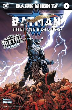 Batman becomes the new God of Armor in DC Comics' Batman: The Merciless # 1 by Peter Tomasi and Francis Manapul. One-shot tie in to Dark Nights: Metal Marvel Girls, Hq Marvel, Marvel Dc Comics, Batman Metal, Batman Dark, Deathstroke, Lego Dc, Power Girl, Dark Knights Metal