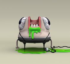 THE BABAS ON THE GARAGE ! - VOL. IV - by ojofrito, via Behance