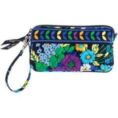 Vera Bradley Wristlet in Midnight Blues - products - Fashion Review Product