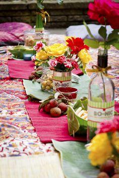 Urban picnic ideas