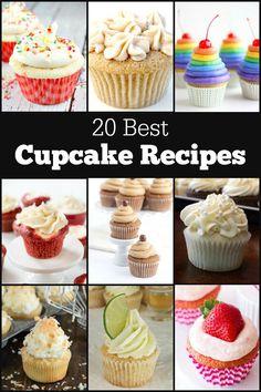 20 Best Cupcake Recipes