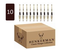 #12. Men's 10 Piece Pant Hanger Set #$ 144.00