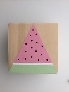 A personal favourite from my Etsy shop https://www.etsy.com/au/listing/269334720/watermelon-wall-hook-square-nursery