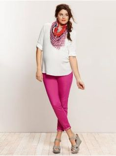 Maternity style tips: Look casual, yet polished | Showing Pregnancy Fashion