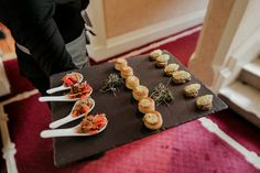 Canapes - Confetti Magazine Irish Wedding Venue of the Month June - Tankardstown House Wedding Catering, Wedding Venues, Irish Wedding, Canapes, Confetti, June, Magazine, Wedding Reception Venues, Wedding Places