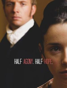 Half agony, half hope. Persuasion by Jane Austen