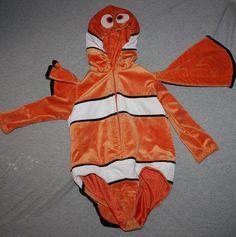 Disney Store Finding Nemo Clown Fish Halloween Costume XXS 2 3 | eBay