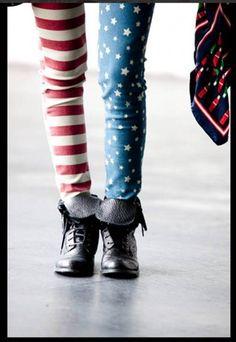 patriotic leggings