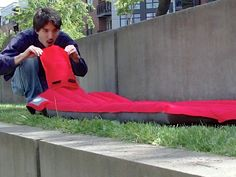 Windcatcher: Inflates in seconds with NO power or pumping...THIS IS AWESOME!!!!