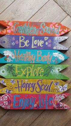#Soulfood#colors#wegwijzers#ibizastyle#jootje#handmade