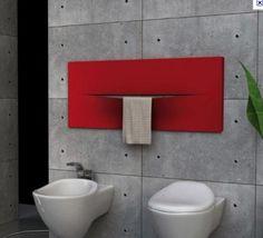 Radiador toallero modelo cut horizontal  de Caleido