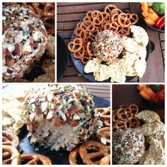 {You'd Never Believe It's Not Real Cheese} Garlic and Sun-dried Tomato 'Cheese-Ball' – PeaceMealxo