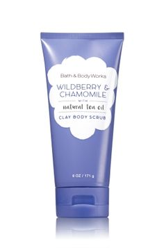 Wildberry & Chamomile Clay Body Scrub - Signature Collection - Bath & Body Works