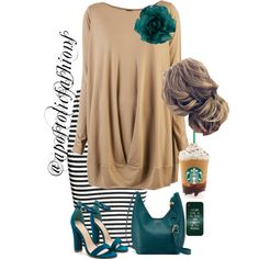 A fashion look from September 2017 featuring Zero + Maria Cornejo dresses, H&M skirts and Tory Burch shoulder bags. Browse and shop related looks. Casual Skirt Outfits, Modest Outfits, Pretty Outfits, Cute Outfits, Modest Clothing, Summer Outfits, Cute Fashion, Fashion Outfits, Fashion Trends