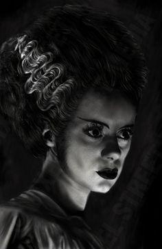 Inspired by Universal Monsters  Bride of by BixelStreetMedia