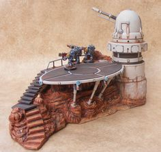 Table Tatooine pour warhammer 40K - JAKO