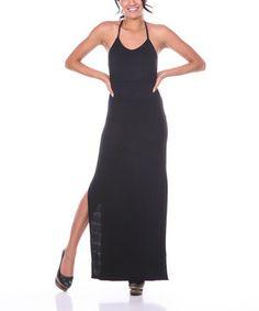 Loving this White Mark Black Maxi Dress on #zulily! #zulilyfinds