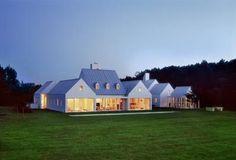 modern farmhouse. Hugh Newell Jacobsen