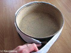 Vinkki tuhdin kakkupohjan tasaiseen kohoamiseen